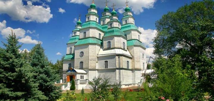 24 октября - НОВОМОСКОВСК - СВЯТО -ТРОИЦКИЙ СОБОР- мировая жемчужина деревянной монументальной архитектуры
