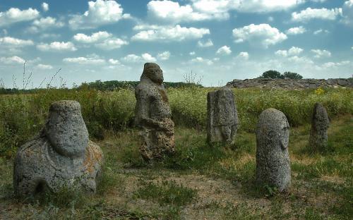 "Каменные идолы "" Балбал"""